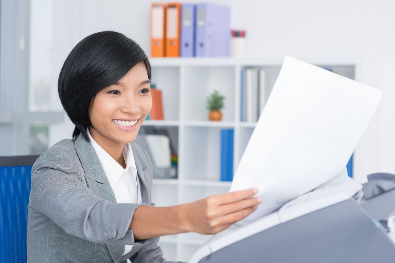 fax machines in offices