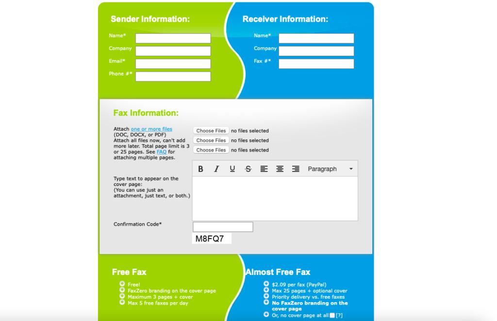 faxzero-free-fax-service