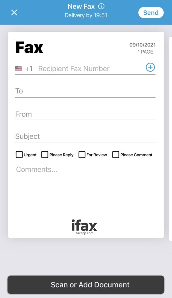 send faxes for free with fax cover page